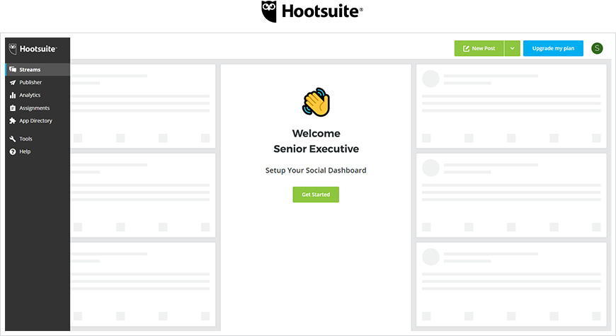Hootsuite Layout